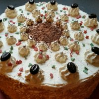 Irish-Coffee Torte